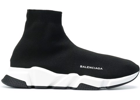 Balenciaga Speed Trainer Black White (PK)