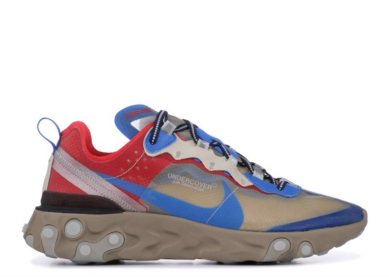 NIKE REACT ELEMENT 87 ''UNDERCOVER'' begie blue (1:1)