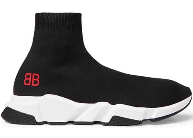 Balenciaga Speed Trainer Mr. Porter Black (1:1)