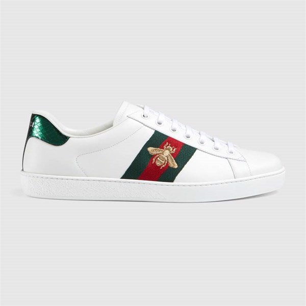 Ace embroidered low-top sneaker BEE (Best)