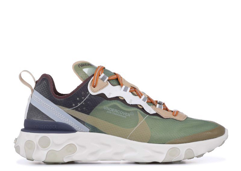 NIKE REACT ELEMENT 87 ''UNDERCOVER'' green mist linen (1:1)