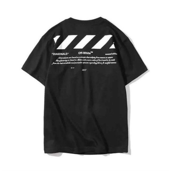 "Off-White Diagonals 01 ""For All"" Collection Tee"