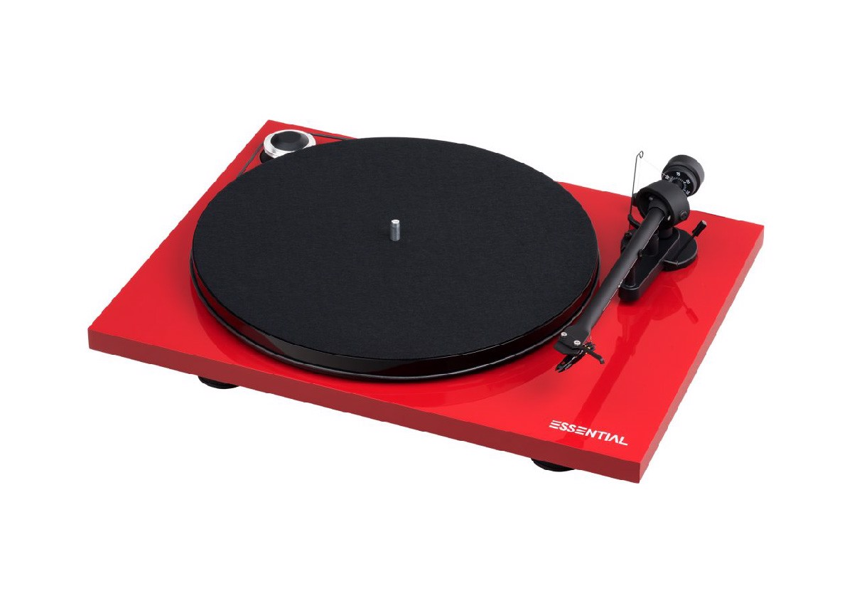 Pro-Ject Audio Essential III Phono Turntable
