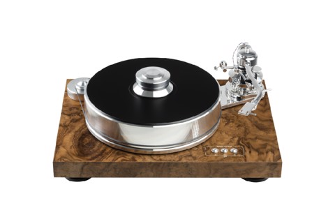 Pro-Ject Audio Signature 10 Walnut Blur Turntable