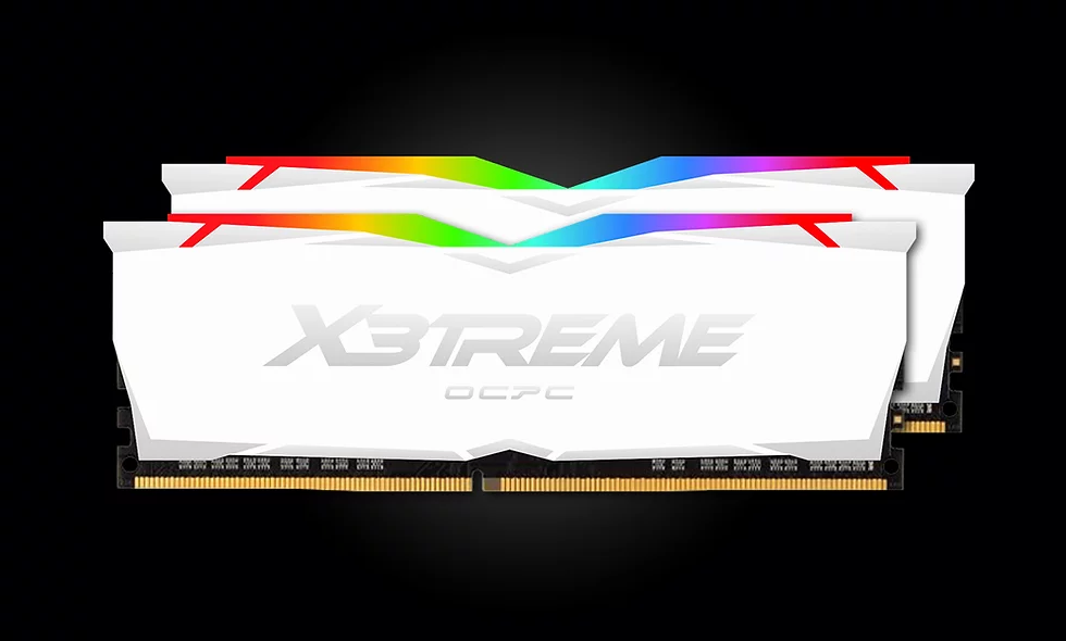 Ram OCPC X3TREME RGB DDR4 3000 16GB(2x8GB) CL16 WHITE