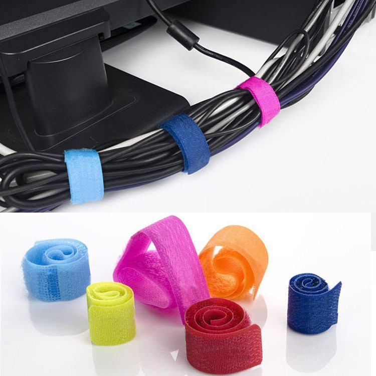 Hook and Loop Cable Management (10pcs)