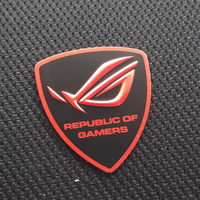 ASUS ROG Metal Shield Sticker
