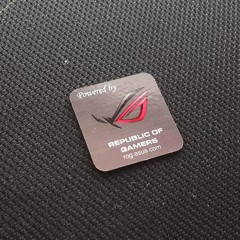 Logo Asus ROG Sticker