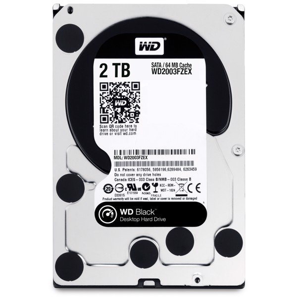 Western Digital WD 2TB Black WD2003FZEX