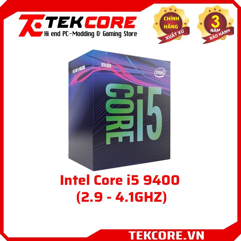 Intel Core i5 9400 (2.9 - 4.1GHZ) - Socket 1151v2
