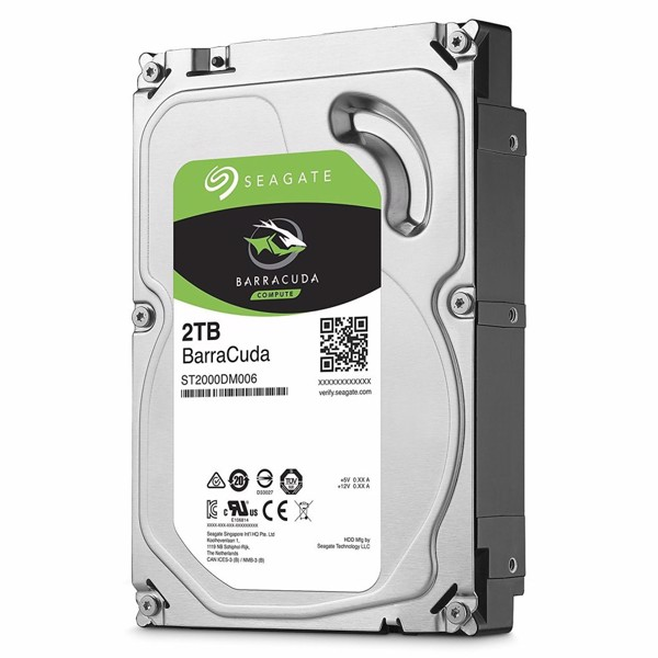 HDD Seagate BarraCuda 2TB