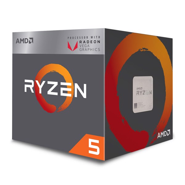 AMD Ryzen 5 2400G 3.6GHz (3.9 GHz Turbo) Socket AM4