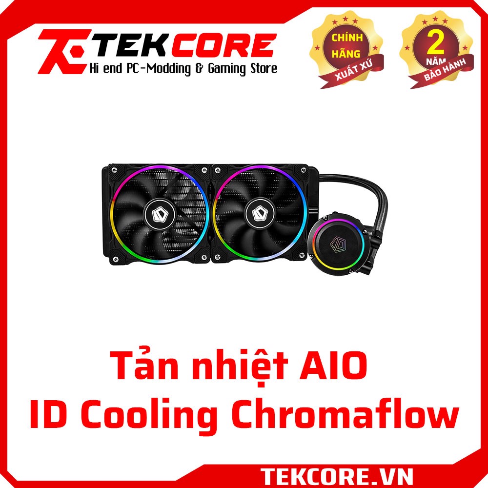 ID Cooling ChromaFlow 240 - Digital RGB Sync