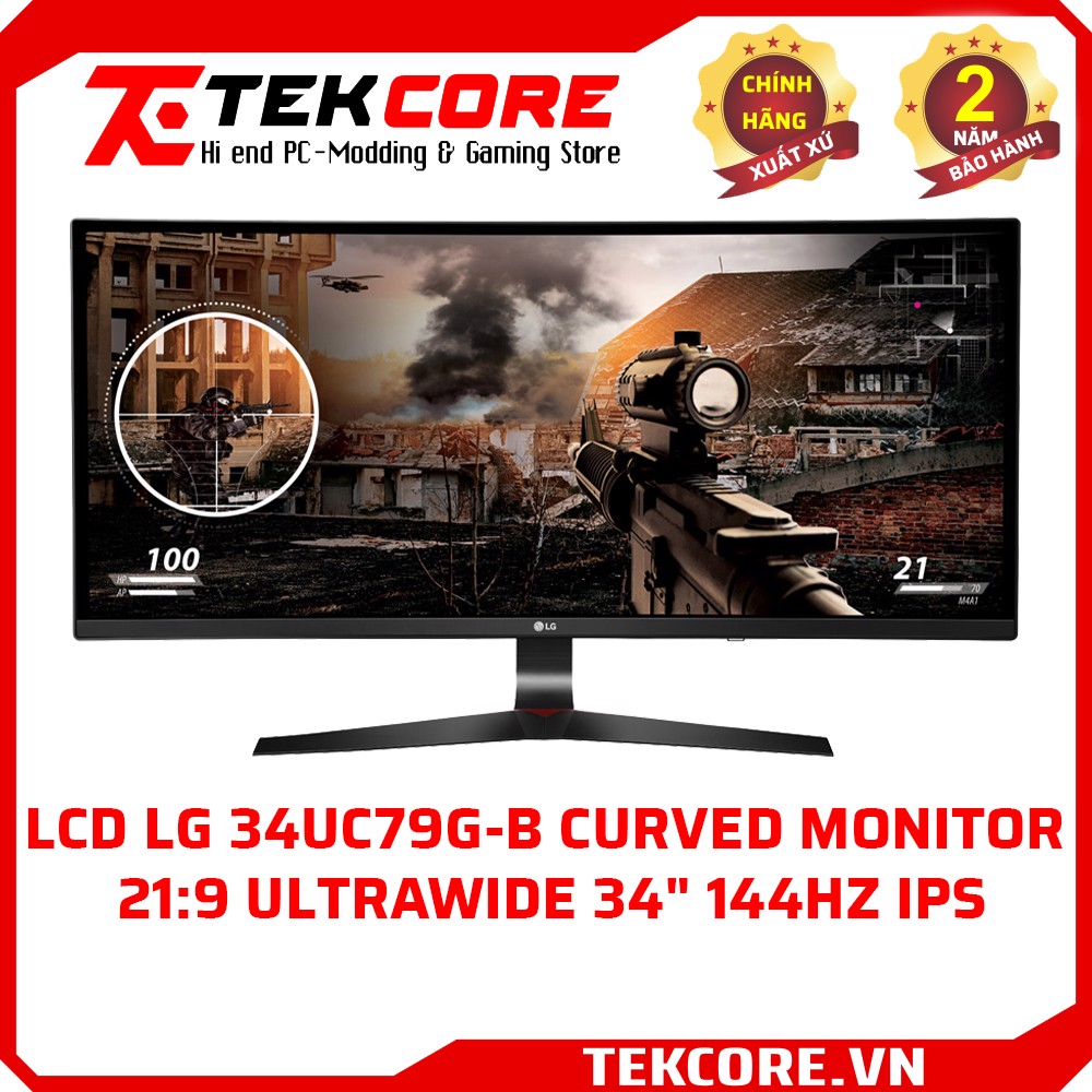 LCD LG 34UC79G-B Curved Monitor 21:9 UltraWide  34