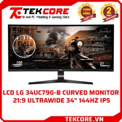 [ LCD 34 inch 144Hz ] LG 34UC79G-B Curved Monitor 21:9 UltraWide  34