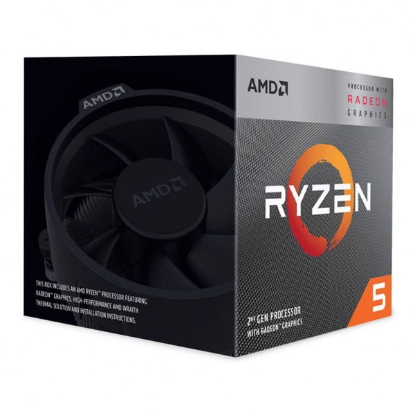 AMD Ryzen 5 3400G 3.7 GHz (4.2 GHz Turbo)