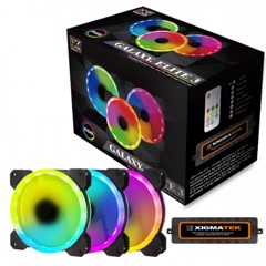 XIGMATEK GALAXY ESSENTIAL - CX120 Hộp 3 fan - 3 Fan Pack