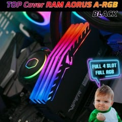 Top Cover RAM MOD AORUS LED RGB BLACK