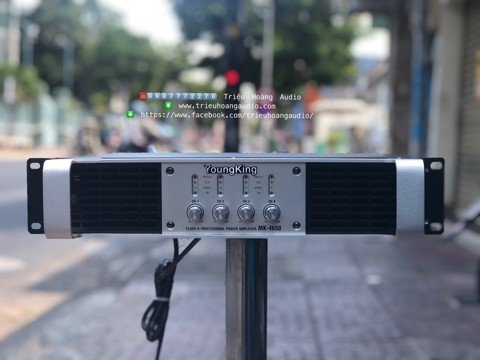 Đẩy Main YoungKing Audio MK-4650 in Korea 4 Kênh