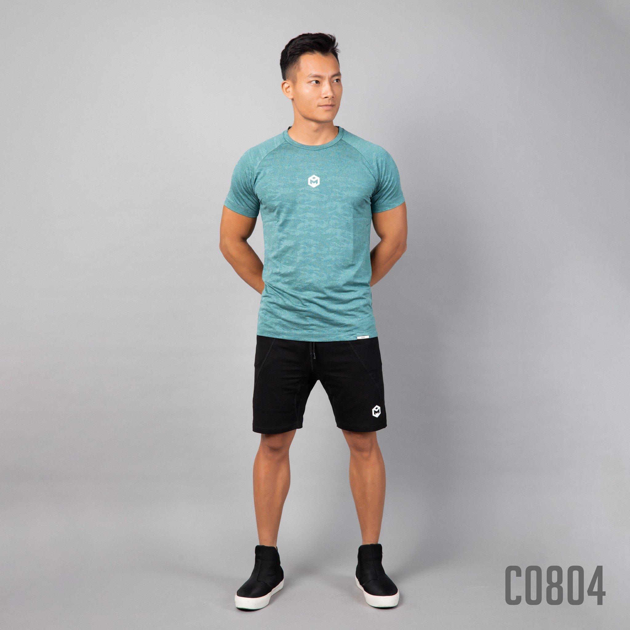 C0804 - Xanh Lá  - Cộc Tay Camo