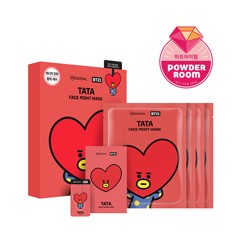 bt21 x mediheal face point mask set tata