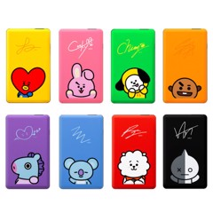 bt21 official power bank 10000mah
