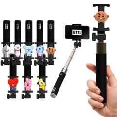 bt21 official selfie stick