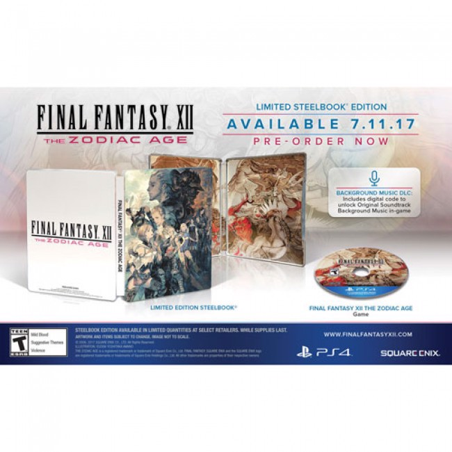 445 - Final Fantasy XII: The Zodiac Age Steel Book Edition