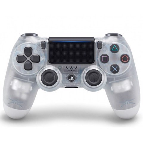 PS4 Dualshock 4 Wireless Controller - Crystal - Cty
