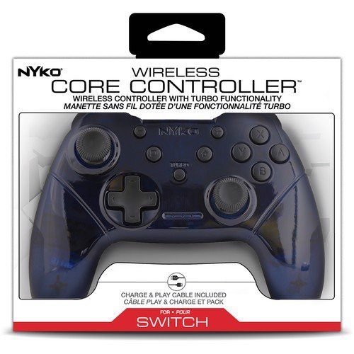 Nyko Wireless Core Controller for Nintendo Switch (Blue/White)