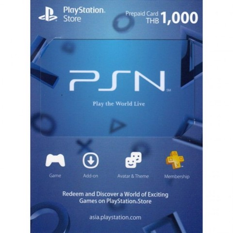 PSN CARD 1000BTH - Digital Code