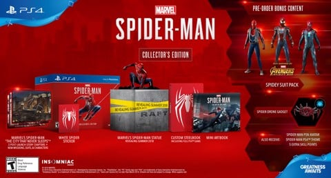 640 - Marvel's Spider-Man Collector's Edition