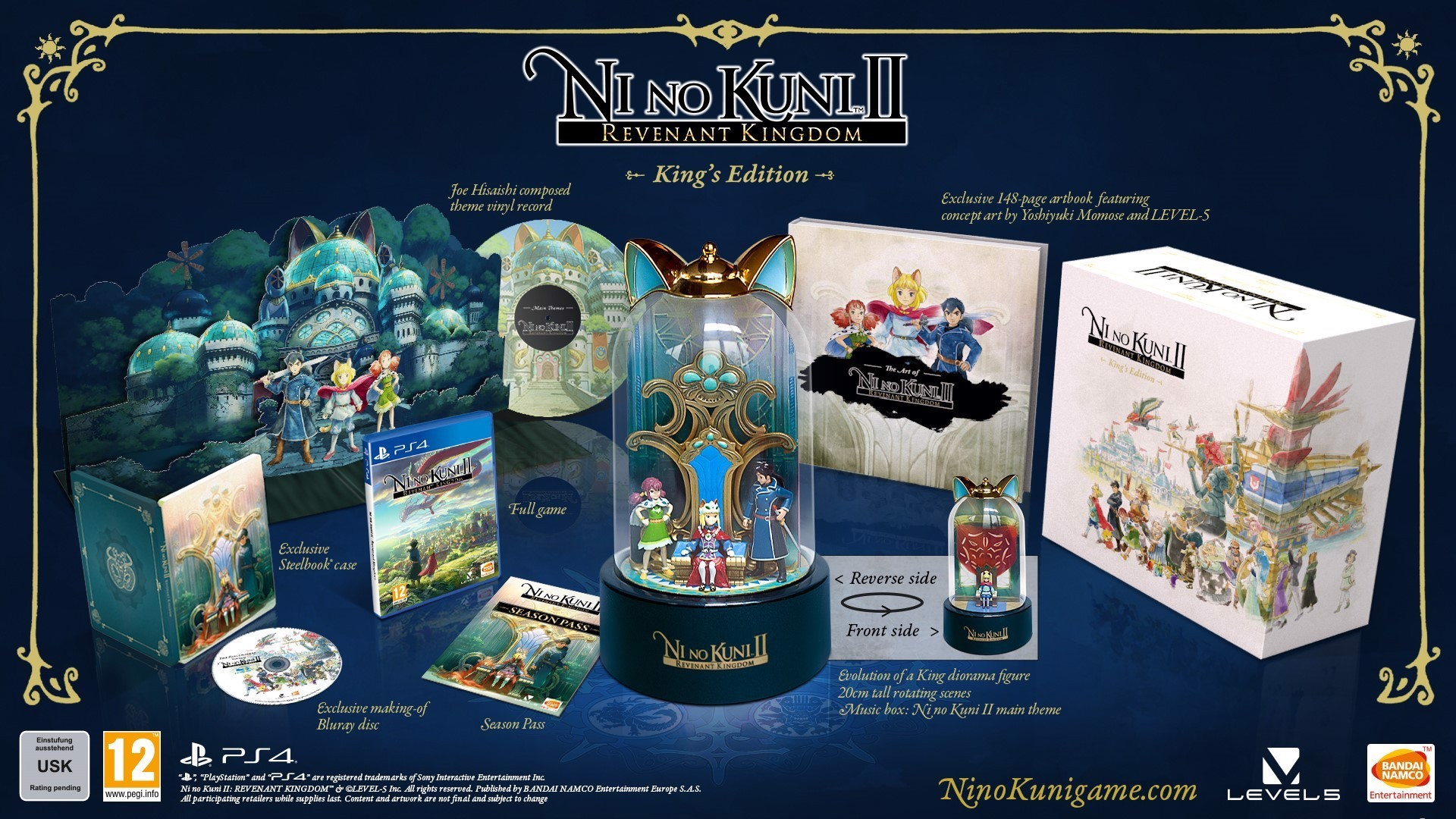 573 - Ni no Kuni II: Revenant Kingdom King Edition