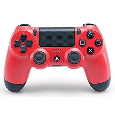 PS4 Dualshock 4 Wireless Controller - Red - Cty