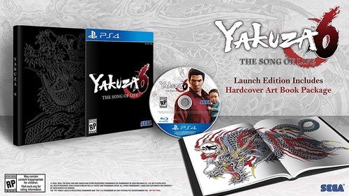 588 - Yakuza 6 The Song of Life Essence of Art Edition - US