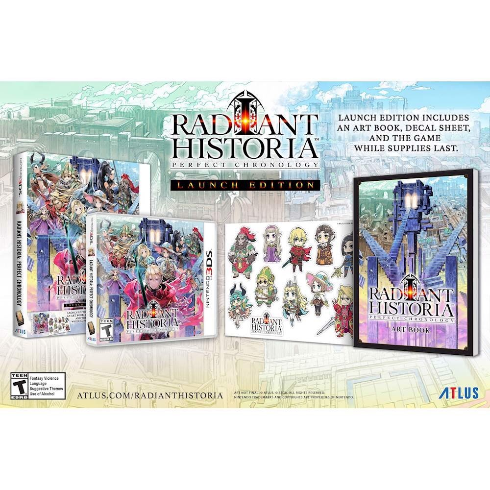 238 - Radiant Historia: Perfect Chronology Launch Edition