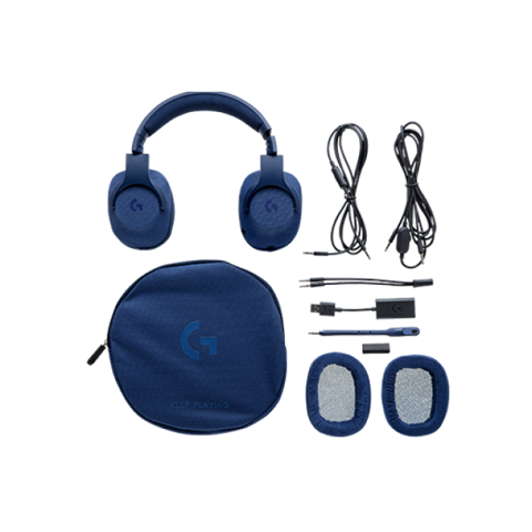 Logitech G433 Gaming Headset (Xanh)