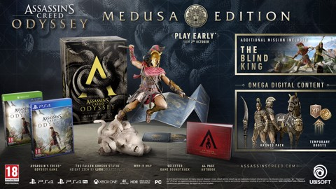 655 - Assassin's Creed Odyssey - Medusa Edition