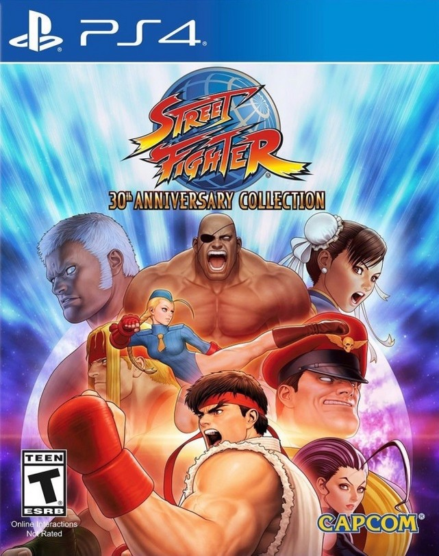 601 - Street Fighter 30th Anniversary Collection