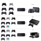 JYS USB OTG Wireless Controller Adapter for Nintendo Switch,PS3 and PC