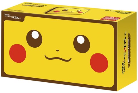 2DS XL Pikachu Special Edition -US VERSION