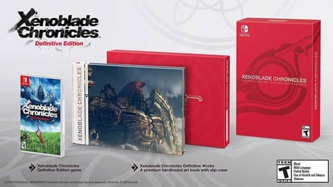 259 - Xenoblade Chronicles Definitive Works Set