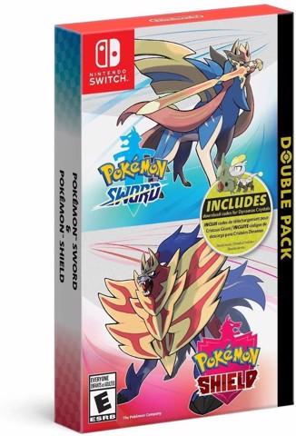 229 - Pokémon Sword & Shield Double Pack