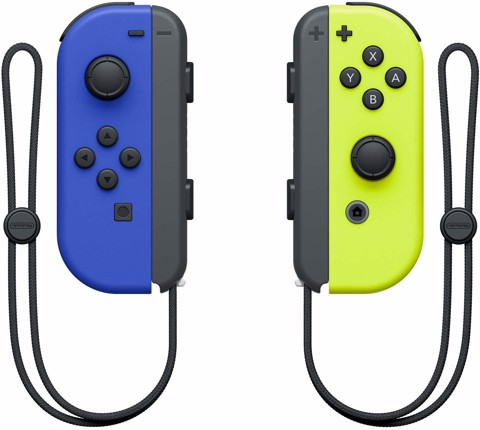 Nintendo Blue/ Neon Yellow Joy-Con (L-R)