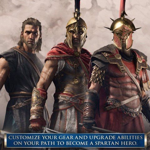 654 - Assassin's Creed Odyssey - Sparta Edition