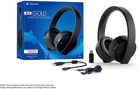 PlayStation Gold Wireless Headset (New Model)