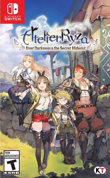 218 - Atelier Ryza: Ever Darkness & The Secret Hideout
