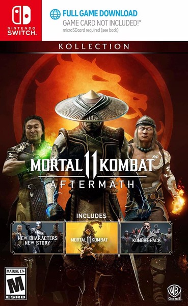 260 - Mortal KOMBAT 11: Aftermath Kollection