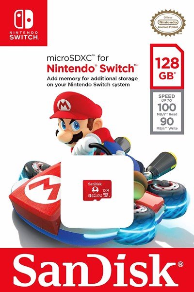 Thẻ MicroSD 128GB Sandisk for Nintendo Switch