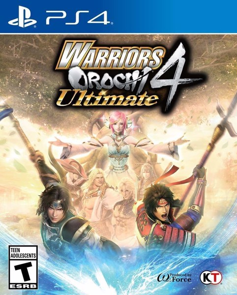 782 - Warriors Orochi 4 Ultimate- US